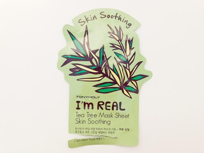 I'm Real Tea Tree Sheet Mask by TONYMOLY #9